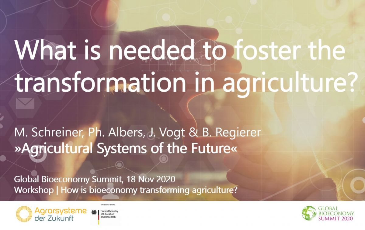 © Agricultural Systems of the Future